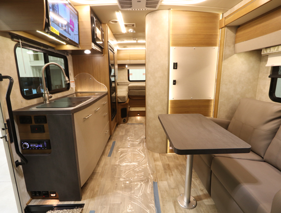 Winnebago View Interior