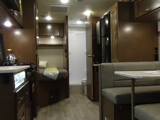 Winnebago Vita Interior