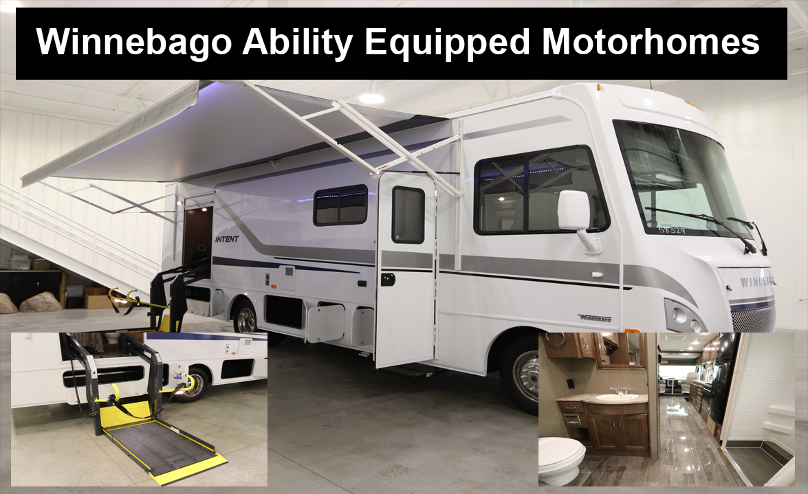 Winnebago Accessibility Enhanced Motor Home