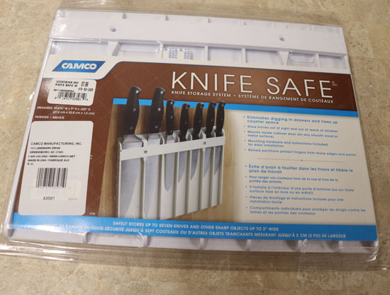 Knife Safe Knife Storage System
