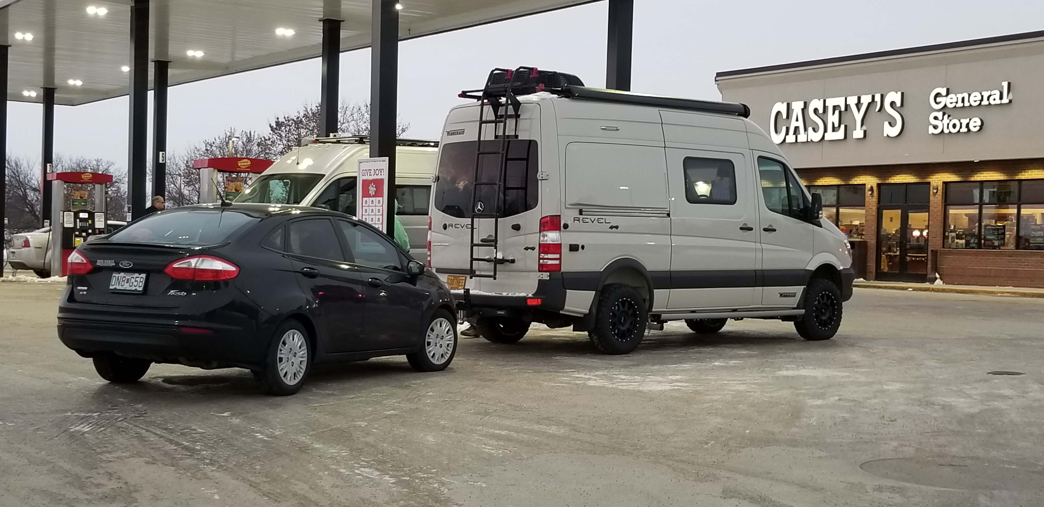 winnebago revel in transport