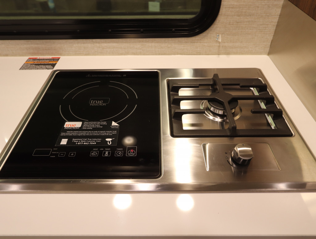 Hybrid Cooktop in the Winnebago View