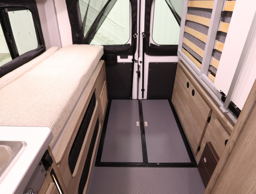 Heavy Duty Vinyl Flooring in the Winnebago Solis