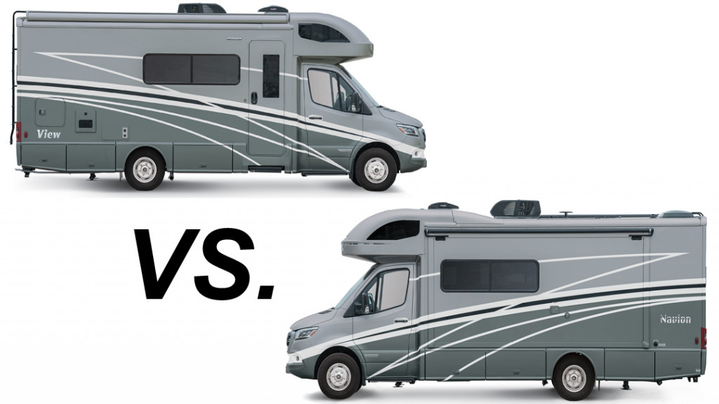 Winnebago View vs. Navion