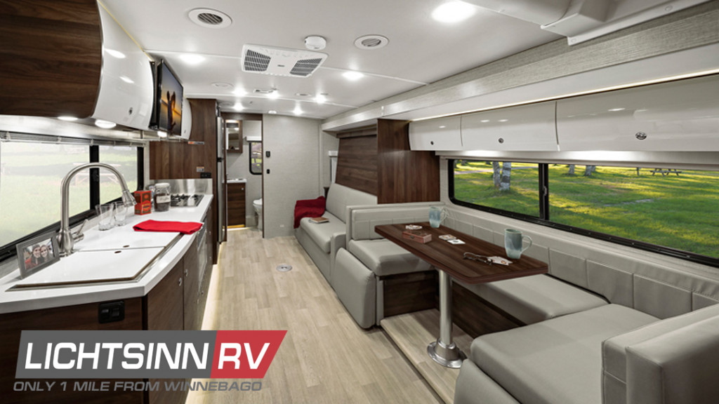 2021 Winnebago View Blog Interior