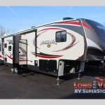 forest river Vengeance fifth wheel toy hauler