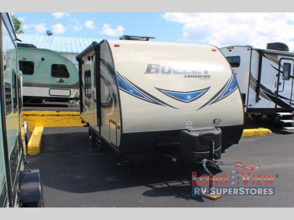 Crossroads Bullet Crossfire travel trailer