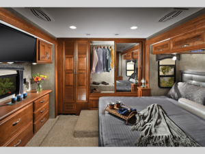 Berkshire Diesel Motorhome Interior Master Bedroom