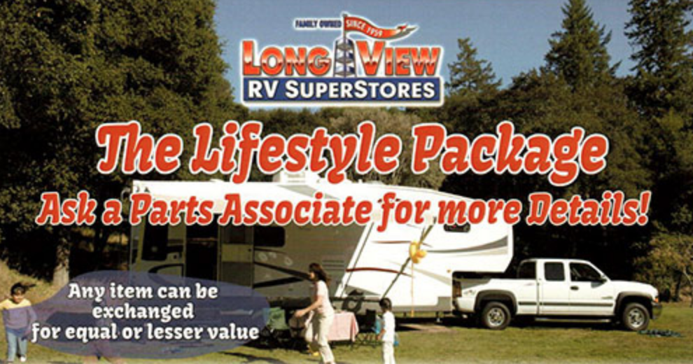 RV Parts Specials: Find What You're Looking For! - LongviewRV Blog