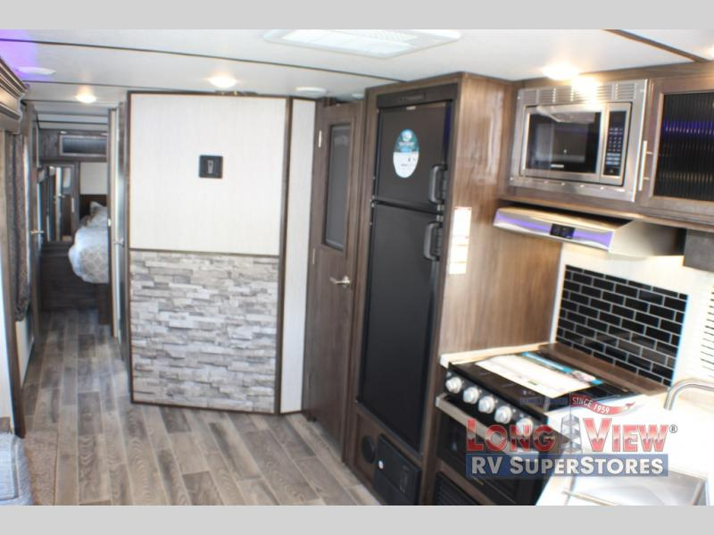 Alpha Wolf Travel Trailer Interior