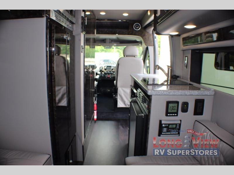 Fleetwood IROK Class B Motorhome Interior