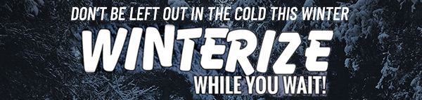 winterize your rv