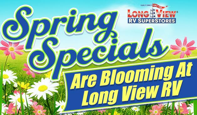 Spring Specials Banner