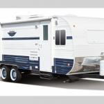 retro travel trailer