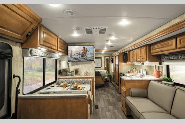 Winnebago Vista- Class A Motorhome Interior