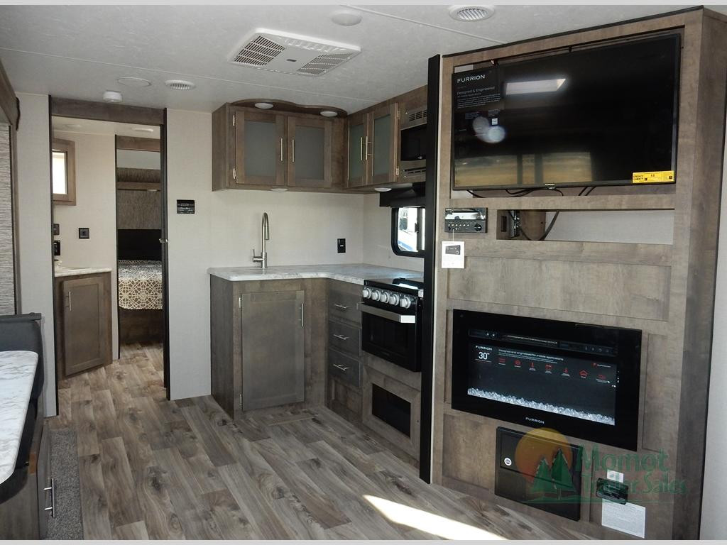 KZ Connect travel trailer interior