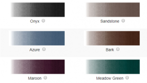 Awning Replacement Colors
