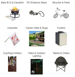 Outdoor living parts