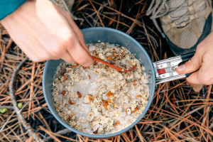 Blueberry-Coconut-Oatmeal-Backpacking-Recipe-3