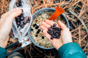 Blueberry-Coconut-Oatmeal-Backpacking-Recipe-5