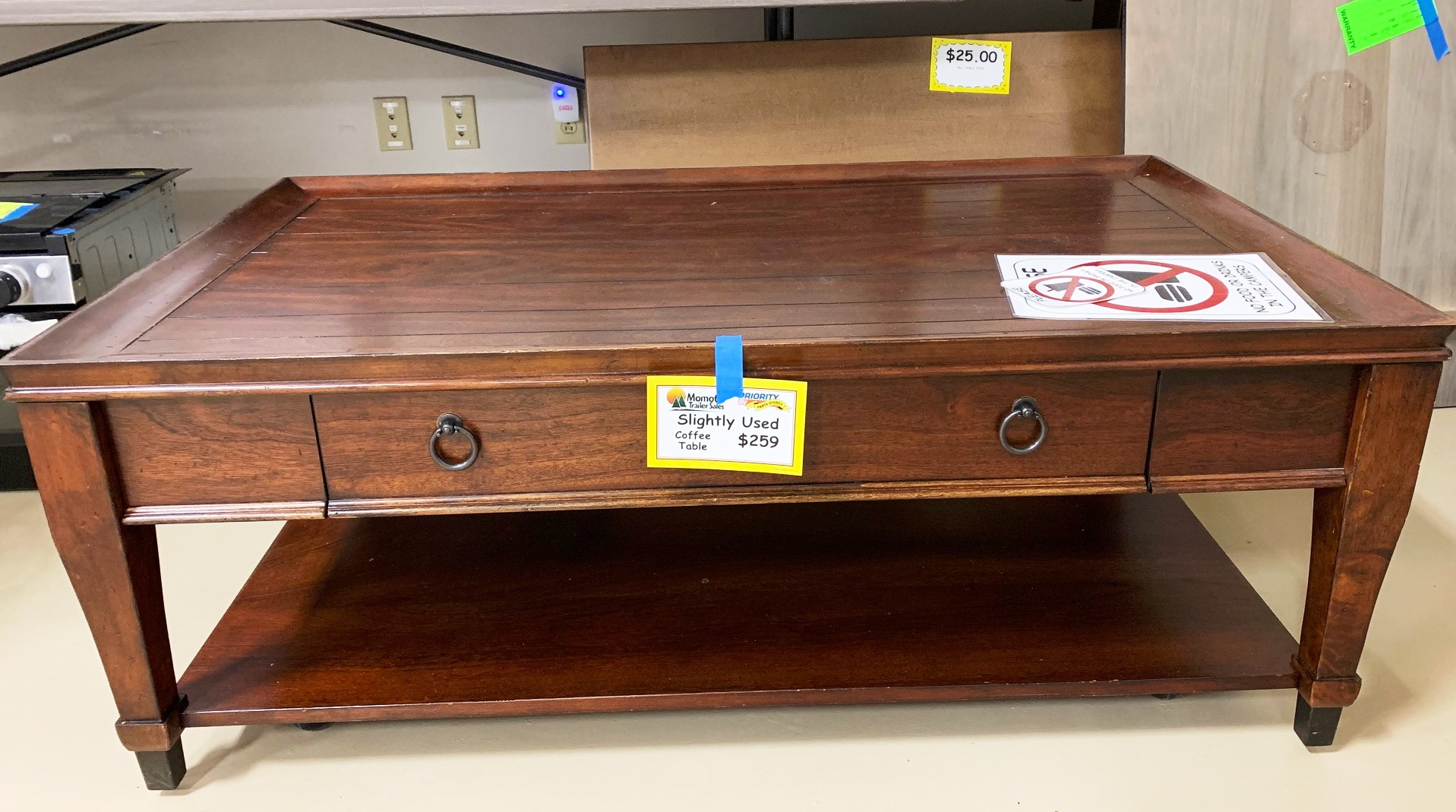 Slightly Used Coffee Table is on sale for $259!