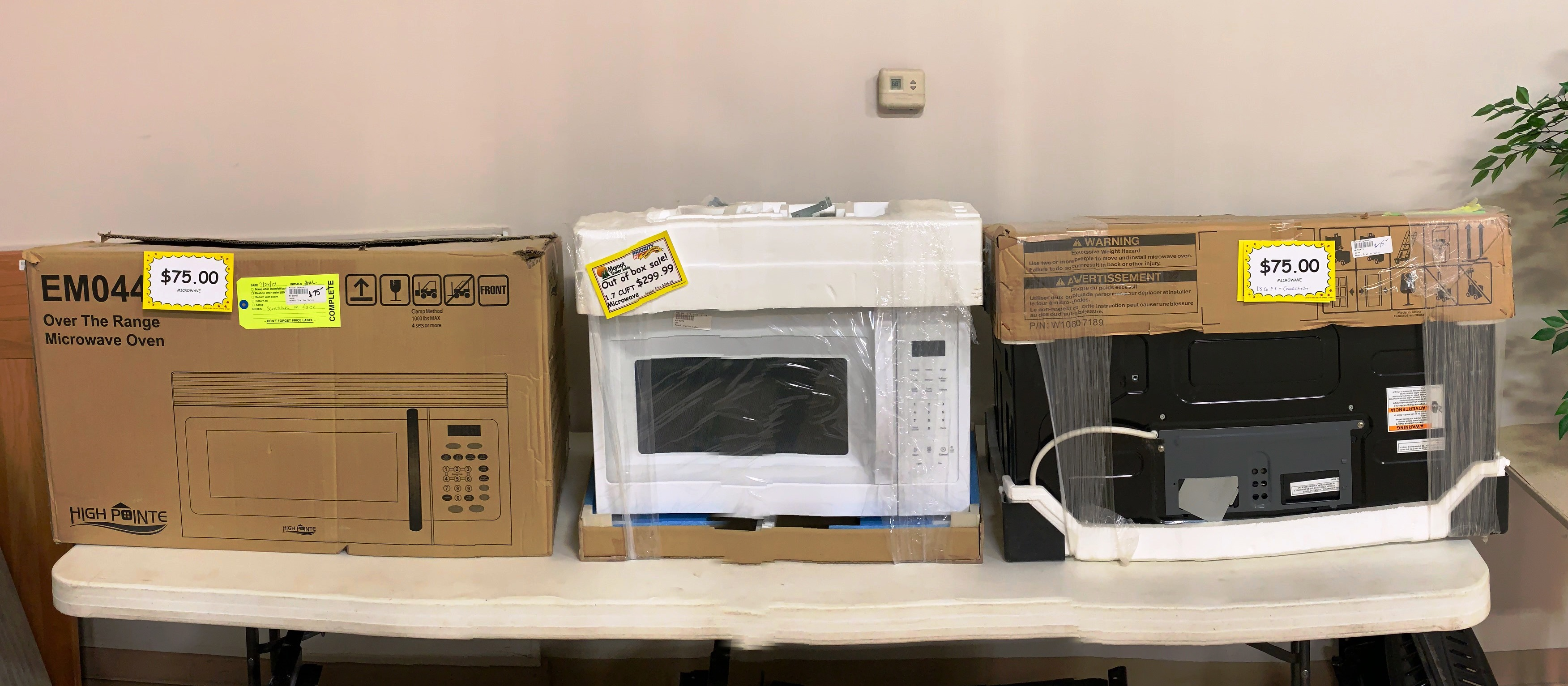 Out of Box Sales! Range from $75 - $299.99!