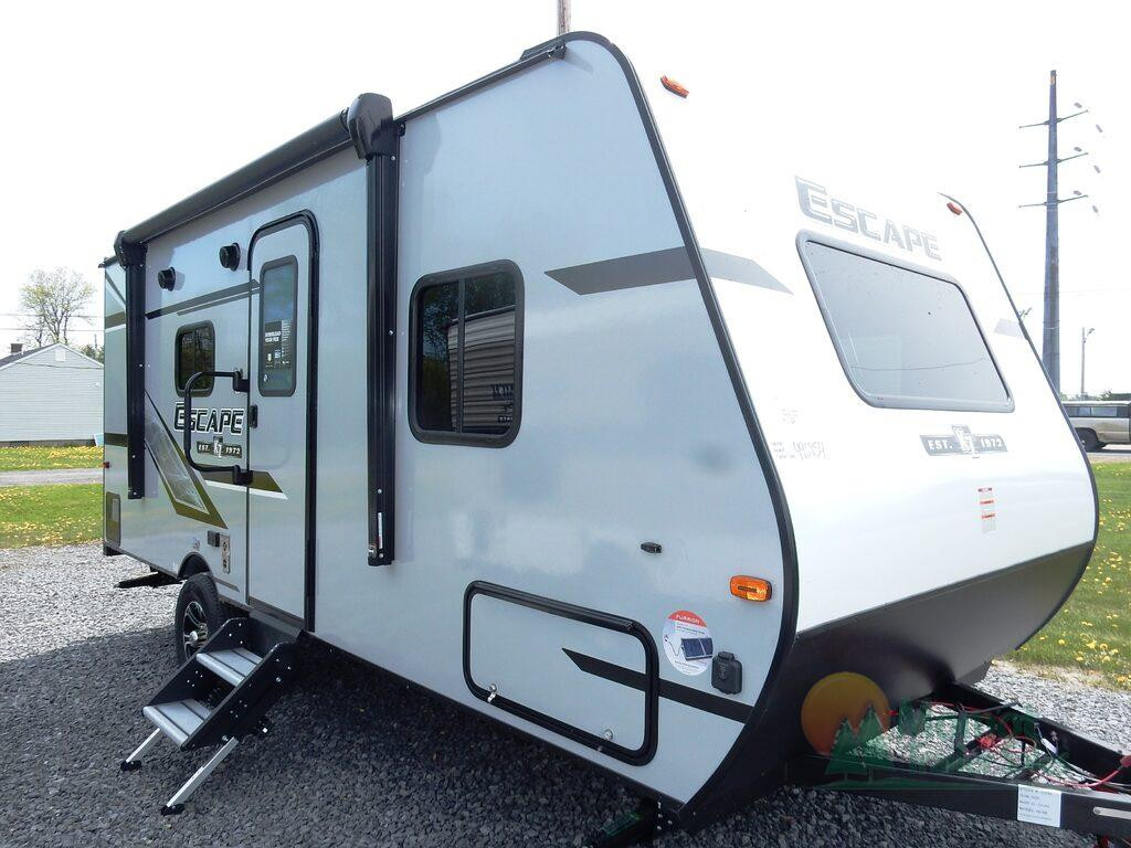 KZ Escape travel trailer main