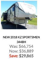 2018 Sportsmen 344BH