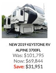 2019 Alpine 3700FL