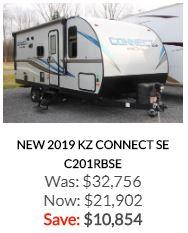 2019 KZ Connect SE C201RBSE