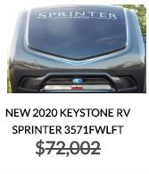 2020 Sprinter 3571FWLFT