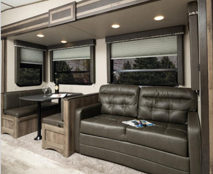 Rear living for Sprinter
