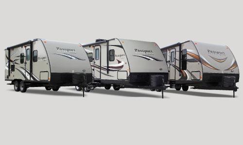 keystone passport travel trailers