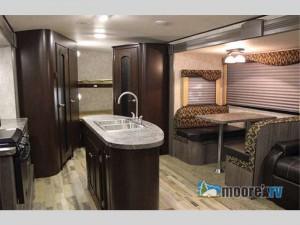 winnebago ultralite travel trailer  interior