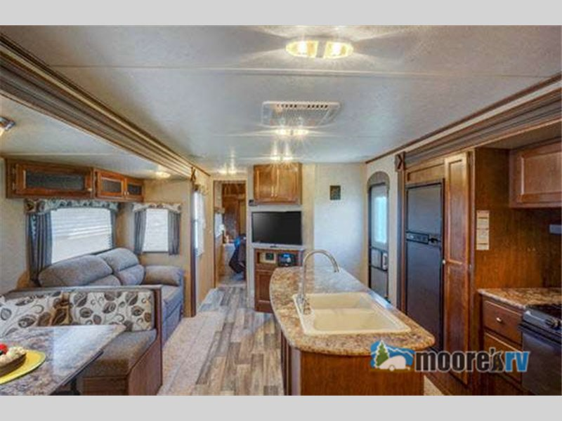 Keystone Hideout Travel Trailer interior