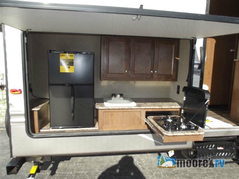 Keystone Hideout Travel Trailer Outdoor Kitchen