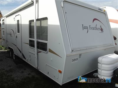 indoor storage travel trailer