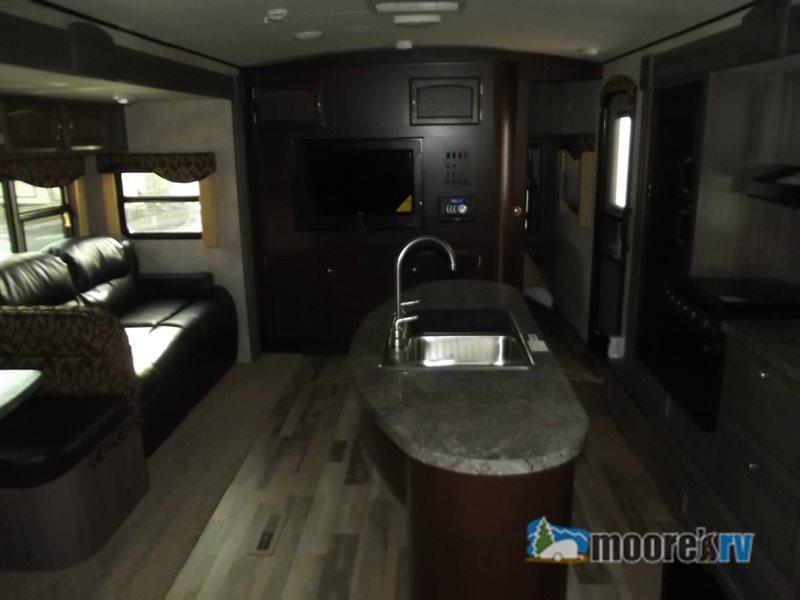 Ultra Lite Travel Trailer Interior