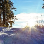 4 winter rving tips, picture of nature in the winter