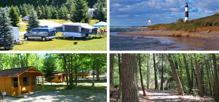 4 fun camping locations in michigan, picture of 4 different camping locations in michigan