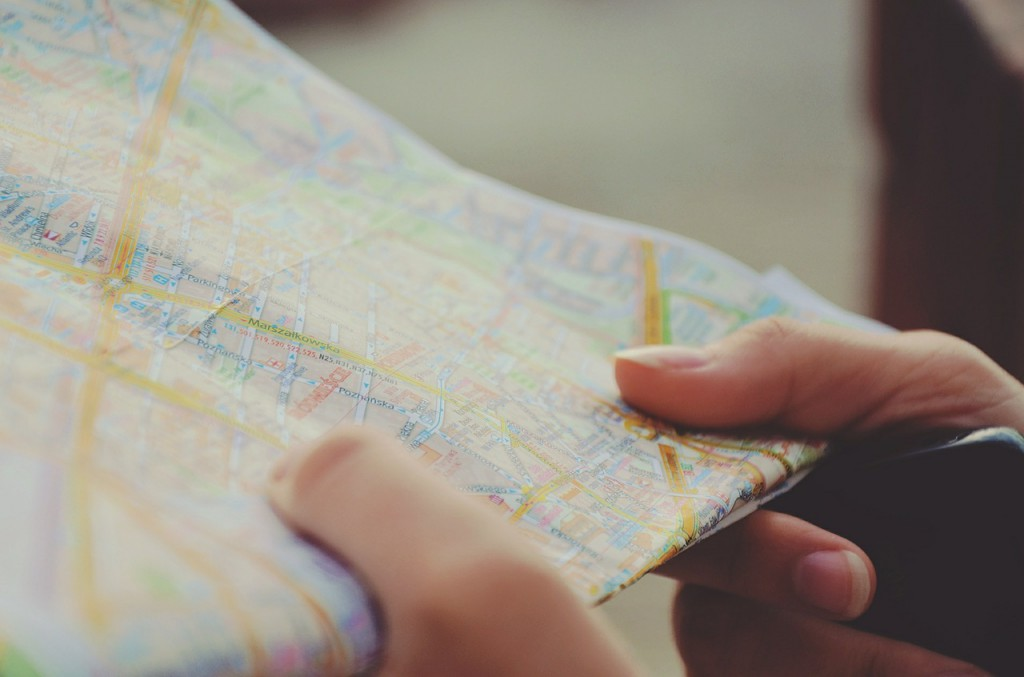 Travel Tips - Paper Maps