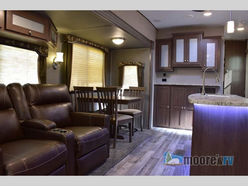 Keystone RV Hideout living