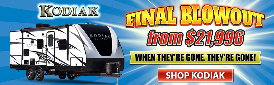Kodiak Blowout Sale Banner