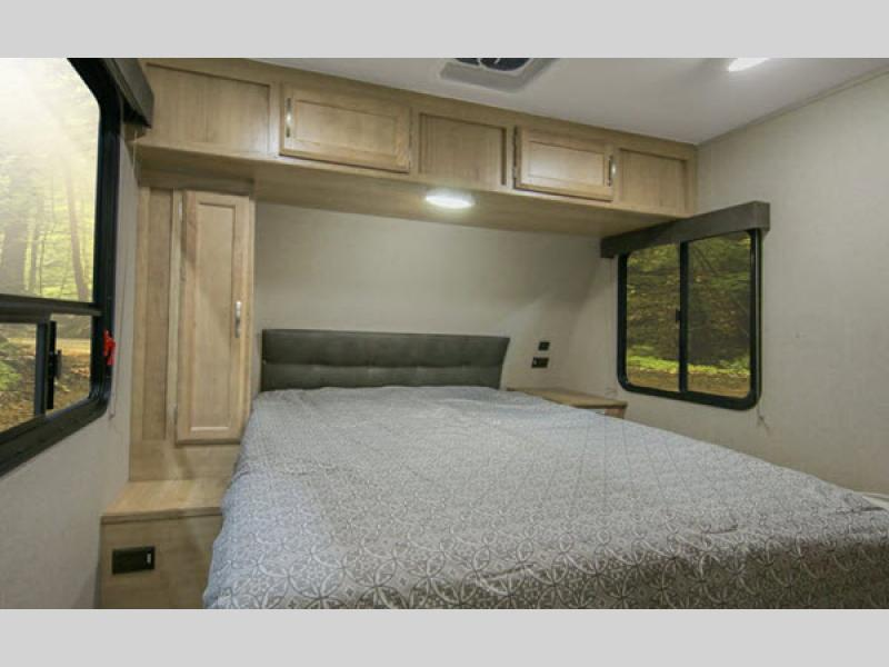 Winnebago Minnie Bedroom