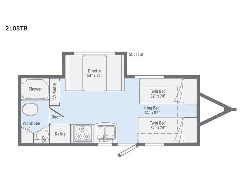 2108TB floorplan
