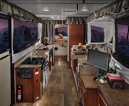 Luxury And Comfort In A Popup Camper Nielson Rv Blog