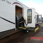 Harbor view handicapped accessible travel trailer