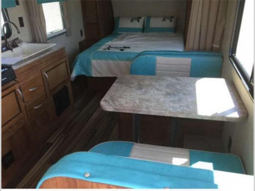 Little Guy Worldwide Serro Scotty travel trailer interior