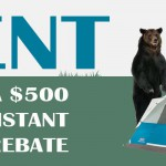 trade in your tent sales event