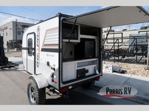 Geo Pro Travel Trailer Exterior Kitchen